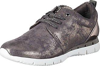 Marco Tozzi 23708, Zapatillas para Mujer, Gris (Dkgrey STRP), 40 EU