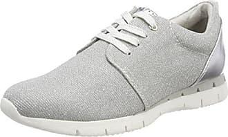Marco Tozzi 23700, Zapatillas Para Mujer, Plateado (Silver Comb), 42 EU