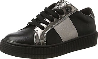 23719, Sneakers Basses Femme, Noir (Black Comb 098), 39 EUMarco Tozzi