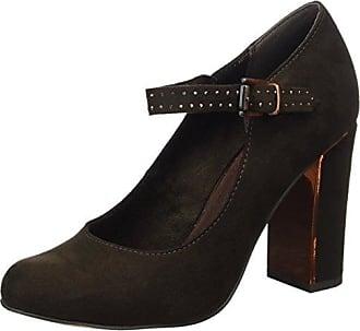 Marco Tozzi 22422, Zapatos de Tacón para Mujer, Negro (Black Str.Pat.), 40 EU