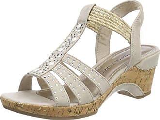 Marco Tozzi donna sandali Sandali con cinturino scarpe estive Rosa NUOVO