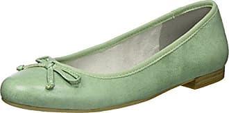 22107, Ballerines Femme, Vert (Mint 768), 41 EUMarco Tozzi
