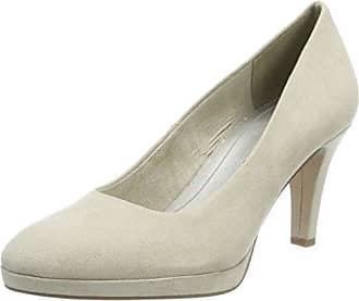 22404, Zapatos de Tacón para Mujer, Rosa (Rose Metallic), 36 EU Marco Tozzi