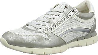 Marco Tozzi 23702, Zapatillas para Mujer, Blanco (White Comb 197), 40 EU
