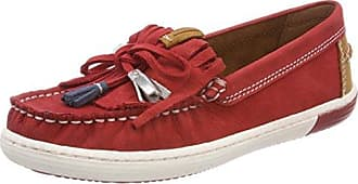 24610, Mocassins (Loafers) Femme, Rouge (Chili Comb), 38 EUMarco Tozzi