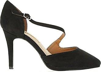 Fayna, Ballerines Femme, Noir (Glam Negro/Soft Negro C36217), 37 EUMaria Mare