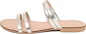 MARIELLA Damen - 8889_Bianco_36 Flip-Flops Textil Weiß