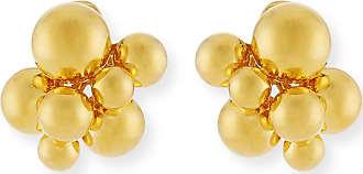 Marina B Small Atomo Clip-On Earrings in 18K Gold