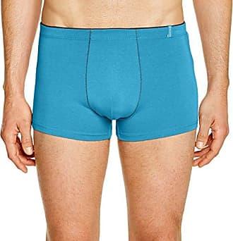 Mens Shorty Uni Ceinture Contrastée Bambou Boxer Shorts Mariner