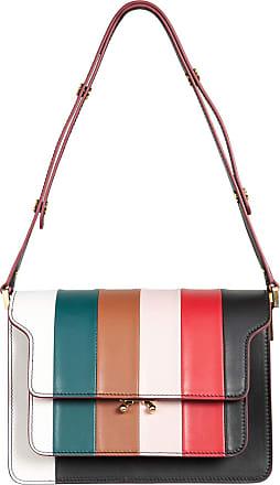Marni Stripe Borsa Tracolla Large Shoulder Bag