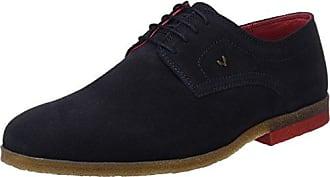 Ganter Anke, Weite G, Zapatos de cordones brogue Mujer, Azul, 38.5 EU