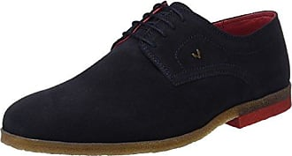 Jonny's London, Zapatos de Cordones Brogue Unisex Adulto, Azul (Azul 013), 41 EU