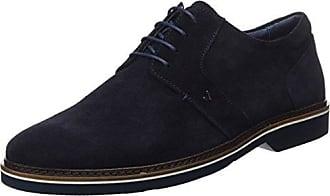 Burton Menswear London Malone, Zapatos de Cordones Derby para Hombre, Negro (Black 130), 42 EU