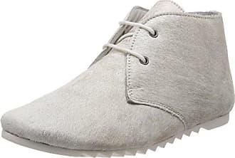 Maruti Nena Hairon Leather, Zapatillas para Mujer, Silber (Misty Silver), 39 EU