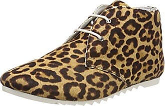 Maruti Cato Hairon Leather, Zapatillas para Mujer, Beige (Pixel Offwhite/Black), 39 EU