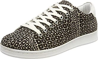 Nena Leather, Baskets Femme, Blanc (White Monochrome B35), 41 EUMaruti