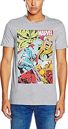 Mens Heroes Grid LRG T-Shirts MARVEL