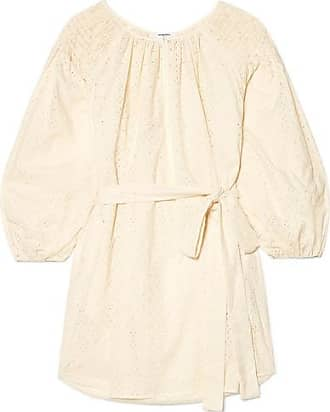 Dunmore cotton hooded dress - Nude & Neutrals Marysia Swim