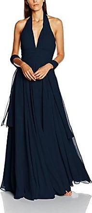 Beaded Belt, Robe de Soirée Femme, Bleu (Navy), 46Mascara