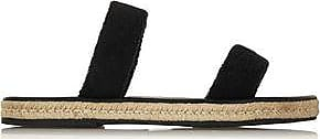 Maslin & Co Woman Hutton Cotton-terry Espadrille Sandals Black Size 35 Maslin & Co