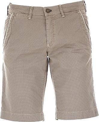 Shorts para Hombre, Pantalones Cortos Baratos en Rebajas, Verde Militar, Algodon, 2017, 46 50 Mason's