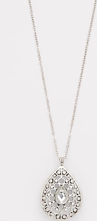 Maurices Tear Drop Jeweled Necklace