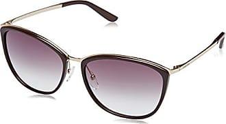 Womens mm Modern III J6 5FC Sunglasses, Dark Havana Black/Brown Sf, 57 Max Mara