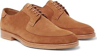 Suede Derby Shoes - TanMcCaffrey