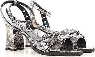 Sandals for Women On Sale, Silver, Patent, 2017, 2.5 3.5 4.5 5.5 7.5 McQ by Alexander McQueen