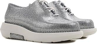 Melissa Be 19, Zapatillas para Mujer, Silver (Silver Glitter), 35/36 EU
