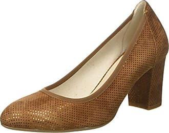 Donna, Zapatos de Tacón con Punta Cerrada para Mujer, Azul (Notte Notte), 36 EU Melluso