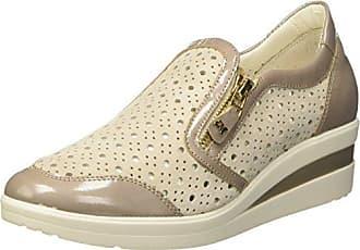 MELLUSO Donna-Walk Techno, Zapatillas para Mujer, Blanco (Bianco Bianco), 38 EU