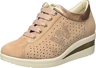 MELLUSO Donna-Walk Techno, Zapatillas para Mujer, Rosa (Salmone Salmone), 38 EU
