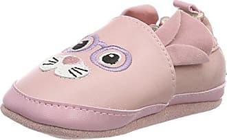 RobeezPink Flamingo - Zapatillas de casa Unisex bebé, Color Rosa, Talla 25/26