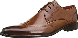Melvin & Hamilton Toni 2 - Zapatos de Cordones de Otras Pieles para Hombre, Negro (Noir (Forum Black)), 44