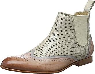 Melvin & Hamilton Jessy 12, Zapatillas de Estar por Casa para Mujer, Marrn (Phython Brown/Crust Dk.Brown/HRS), 37 EU