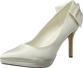 Bianco Loafer Pump 100, Zapatos de Tacón con Punta Cerrada para Mujer, Beige (Cream 23), 36 EU