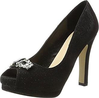 Menbur Cortecillas, Zapatos de Tacón con Punta Cerrada para Mujer, Negro (Schwarz), 37 EU