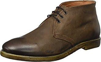 Mentor M1169, Zapatos de Cordones Oxford para Hombre, Marrón (Dark Brown Dark Brown), 42 EU
