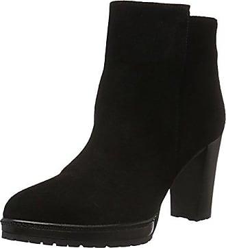Mentor W7232, Bottes Classiques Femme - Noir - Noir (Black Black), 38 EU