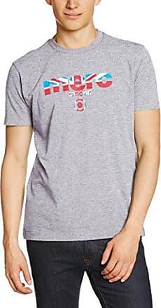 Shirt - Imprimé - Col Ras du Cou - Manches Courtes - Homme - Belu (Marine) - Small (Taille Fabricant: S)Harrington
