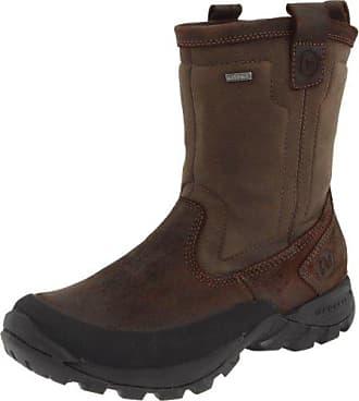 Merrell Damen Sugarbush Waterproof Stiefel, 41 B(M) EU, Schwarz