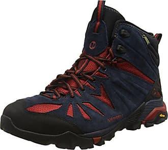 Merrell Mqm Edge GTX, Chaussures de Randonnée Basses Homme - Gris (Castle Rock), 45.5 EU