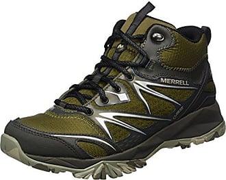 Merrell Capra Glacial Ice+ Mid Waterproof, Chaussures de Randonnée Hautes Femme, (Black), 39 EU