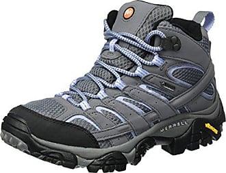 Merrell Moab Fst Mid Gore-Tex, Stivali da Escursionismo Alti Donna, Marrone (Boulder), 38.5 EU