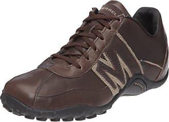 Merrell Sprint Blast Chaussures de randonnée en cuir pour homme à lacets Baskets - Marron - marron,