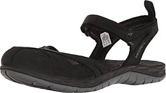 Merrell Siren Wrap Q2 Aliminium, Schuhe, Sandalen & Hausschuhe, Sportsandalen, Braun, Grau, Female, 36