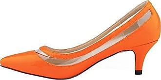 orangefarbene schuhe