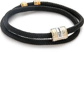 Miansai Casing Rope Wrap Bracelet - Solid Black