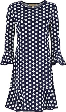Dress for Women, Evening Cocktail Party On Sale, Light Quartz, Cotton, 2017, 12 Michael Kors